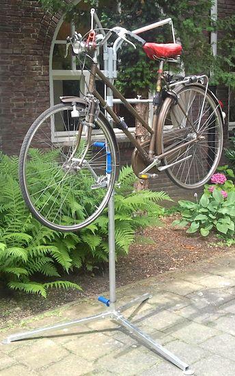fietsstandaard van Remco