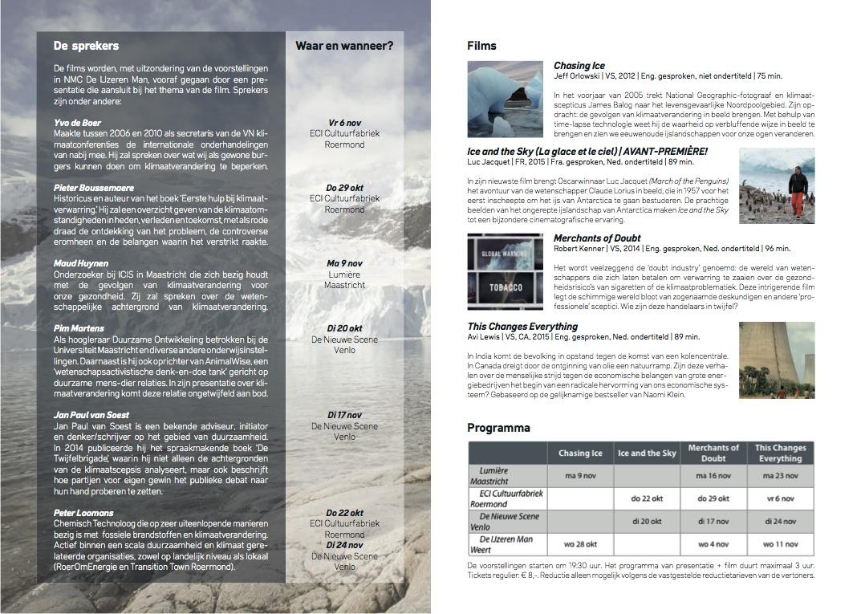 Flyer Filmcyclus Klimaat2